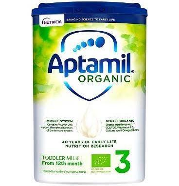 Aptamil Organic Baby Milk 800g (from 12 months) - £6.75 instore @ Asda (Walsall)