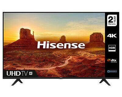 "Hisense 55A7100F 55"" 4K HDR Smart TV + 2 Year Warranty - £354 @ cramptonandmoore eBay"