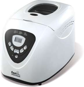 Morphy Richards 48281 Fastbake Breadmaker 3 Loaf Sizes, Gluten Free, Cool Touch, 600 W - £38.79 @ Amazon