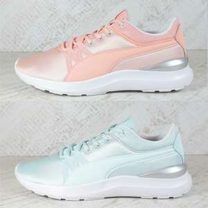 Womens Puma Adela Trainers Mint Green Sizes 4-6 / Peach Sizes 3.5 - 6.5 £17.59 delivered with code @ bigbrandoutlet2015 / ebay