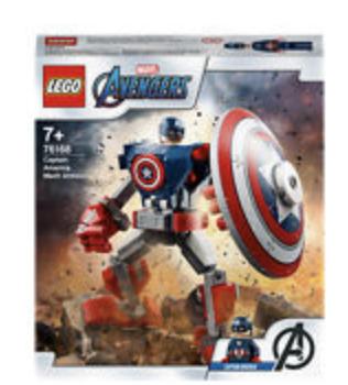 Lego Captain America Mech Armour - £8 @ Asda