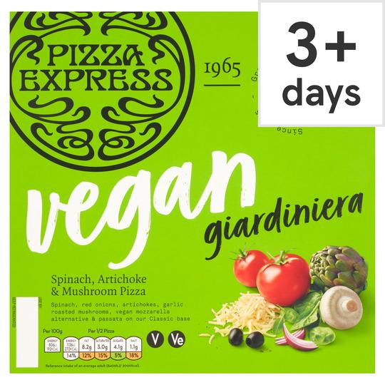 Pizza Express Giardiniera Vegan Pizza 272G (Clubcard Price) @ Tesco