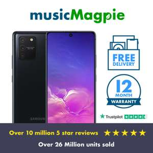Samsung S10 lite - unlocked, graded Good - 12 month warranty for £167.19 with code (UK Mainland) at ebay / musicmagpie
