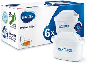 6 Pack BRITA Maxtra+ Plus Water Filter Jug Replacement Cartridges £19.60 with code at first.person.medical / ebay (12 Pack £35.99)