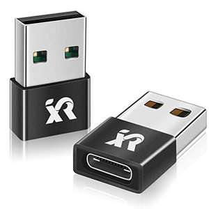 Type C to USB A Charging Cable Adapter x2 £5.09 Prime (+£4.49 Non Prime) Sold by XRSC-UK and Fulfilled by Amazon