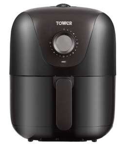 Tower T17062 Air Fryer Oven with Rapid Air Circulation and 30 Min Timer, 3 Litre, Black £37.99 @ Amazon Treasure Truck