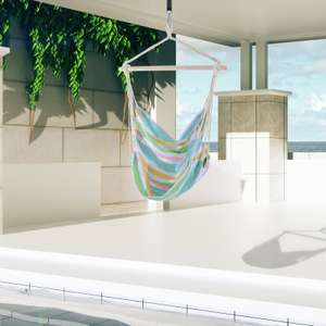 Outdoor Hanging Rope Hammock Chair £8.99 Delivered (UK mainland) @ eBay / outsunny