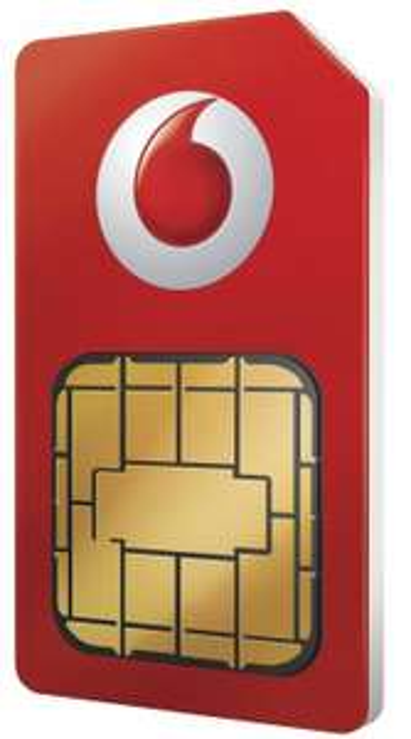 Vodafone 5G Sim Only 100GB, Unltd Mins/Texts 12m - £16pm + £40 auto-cashback + £25 prepaid mastercard @ Mobiles.co.uk