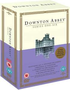 Downton Abbey Series 1-6 DVD, Boxset (used) £13.56 / (New) £19.99 delivered with code @ mtrentertainmentltd / ebay