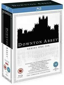 Downton Abbey - Series 1 - 6 (Blu-Ray, 22-Disc, Box Set) £31.99 delivered with code @ mtrentertainmentltd / ebay