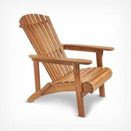 Adirondack Chair £67.99 delivered with code (UK Mainland) @ VonHaus