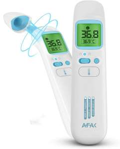 AFAC Infrared Digital Thermometer, Forehead Ear and Object Mode £7.99 with code (+£4.49 nonPrime) Sold by DAPUYI and Fulfilled by Amazon