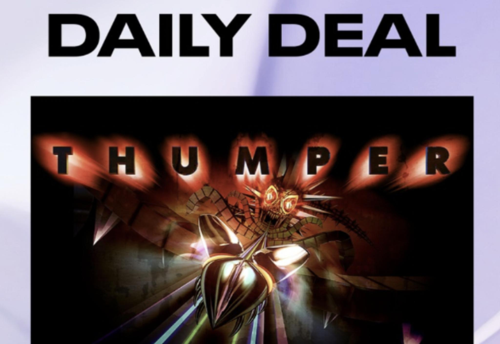Oculus VR Daily Deal - Thumper £8.99 @ Oculus
