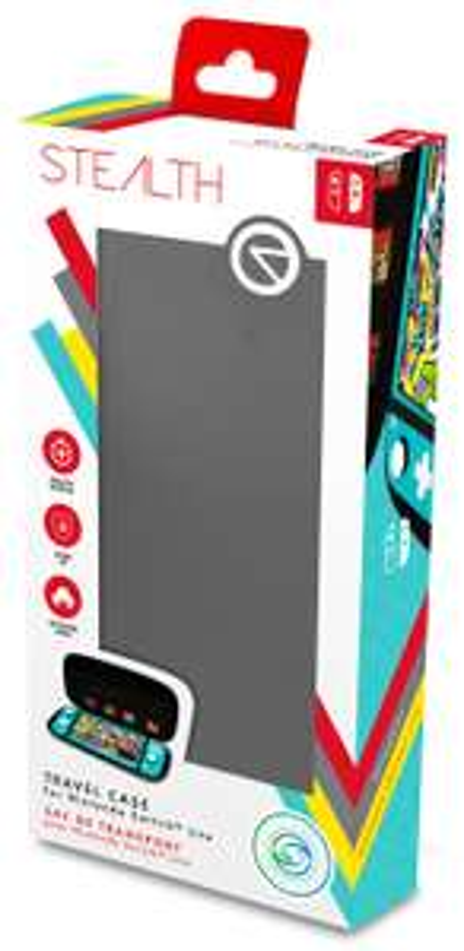 Stealth Travel Case for Nintendo Switch Lite Grey £3 at Asda Bishop Auckland
