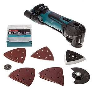 Makita DTM51ZJX7 18 V Multi-Tool Cordless with Accessories in Makpac Case £120 @ Amazon