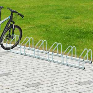 Metal Bicycle Parking Rack For Up To 6 Bikes - £18.39 Delivered With Code (UK Mainland) @ eBay / outsunny