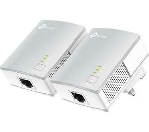 Refurbished TP-Link TL-PA4010 Powerline Adapter Kit Twin Pack AV600 Up to 600Mbps - £18.39 with code @ Tab Retail eBay