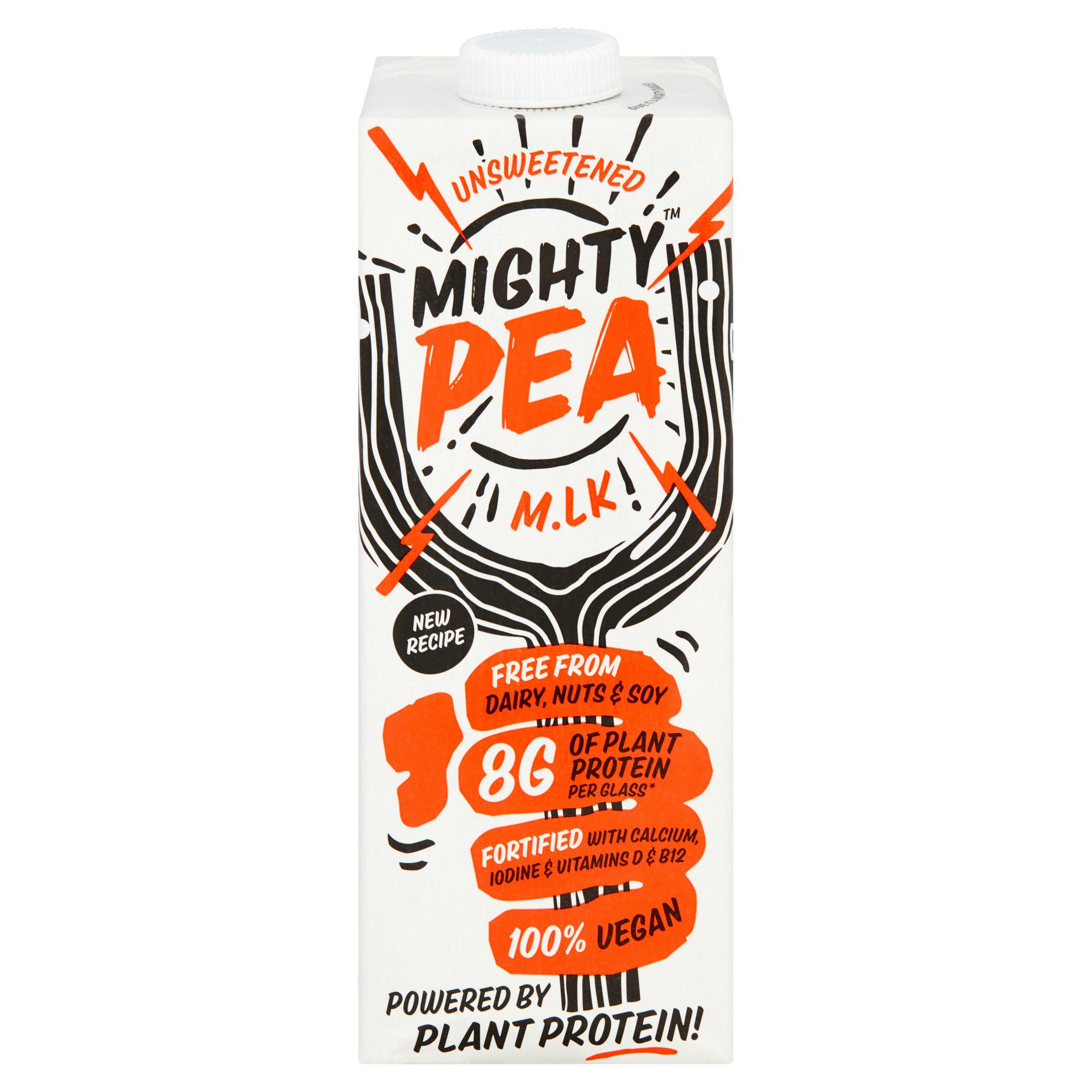 Mighty Pea Vegan Plant Milk Alternative 1 Litre £1.25 @ Sainsbury's