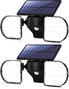 Ousfot 2 pack of Solar Lights Outdoor 56 LED £20.99 with voucher Sold by ousfot and Fulfilled by Amazon