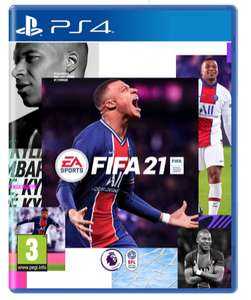 FIFA 21 for Playstation 4 £14.99 @ Curry's