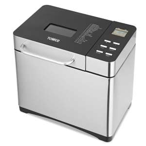 Tower T11005 Digital BreadMaker with Adjustable Crust Control, Keep Warm Function 650 W, Silver £66.79 at Amazon