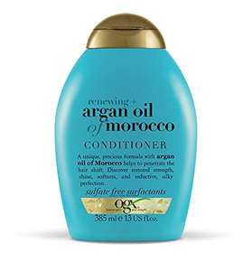 OGX Argan Oil of Morocco Hair Conditioner for Dry Damaged Hair, 385ml £3 Prime / +£4.49 Non-Prime / £2.85 S&S @ Amazon