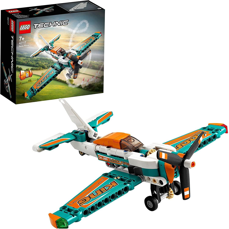 LEGO Technic 42117 Race Plane Toy to Jet Aeroplane 2 in 1 £6 (+£4.49 Non Prime) @ Amazon
