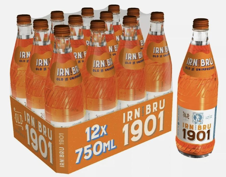 Irn Bru 1901 - 12 x 750ml - £23.99 with code @ eBay / Barr_soft_drinks