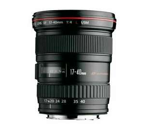 CANON EF 17-40 mm f/4L USM Wide-Angle Zoom Lens - Damaged Box £481.50 @ currys_clearance / eBay