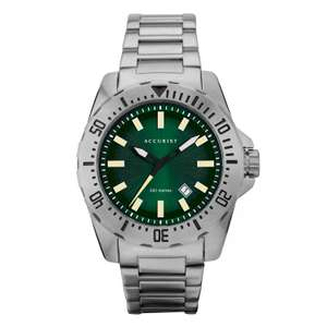Accurist Divers Style Men's Stainless Steel Bracelet Watch - £47.99 with code @ H Samuel