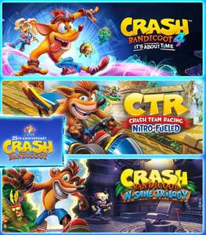 Crash Bandicoot - Crashiversary Bundle (Xbox One / Xbox Series S/X) £35.98 via VPN @ Xbox Brazil