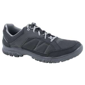 Quechua Men's NH100 country walking boots - black for £11.99 Click and Collect (or +£2.99 delivery) @ decathlon