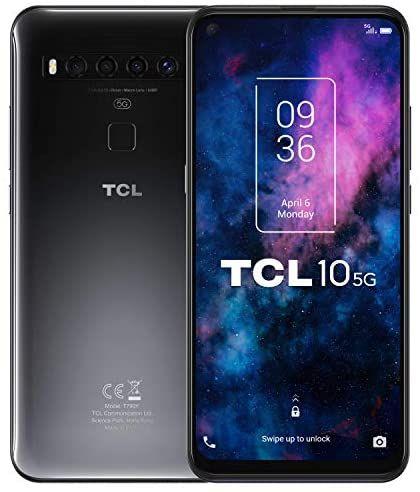 TCL 10 5G Smartphone (Qualcomm 765G 5G 6GB / 128GB MicroSD 4500mAh Battery) - £172.70 (UK Mainland) @ Amazon Spain