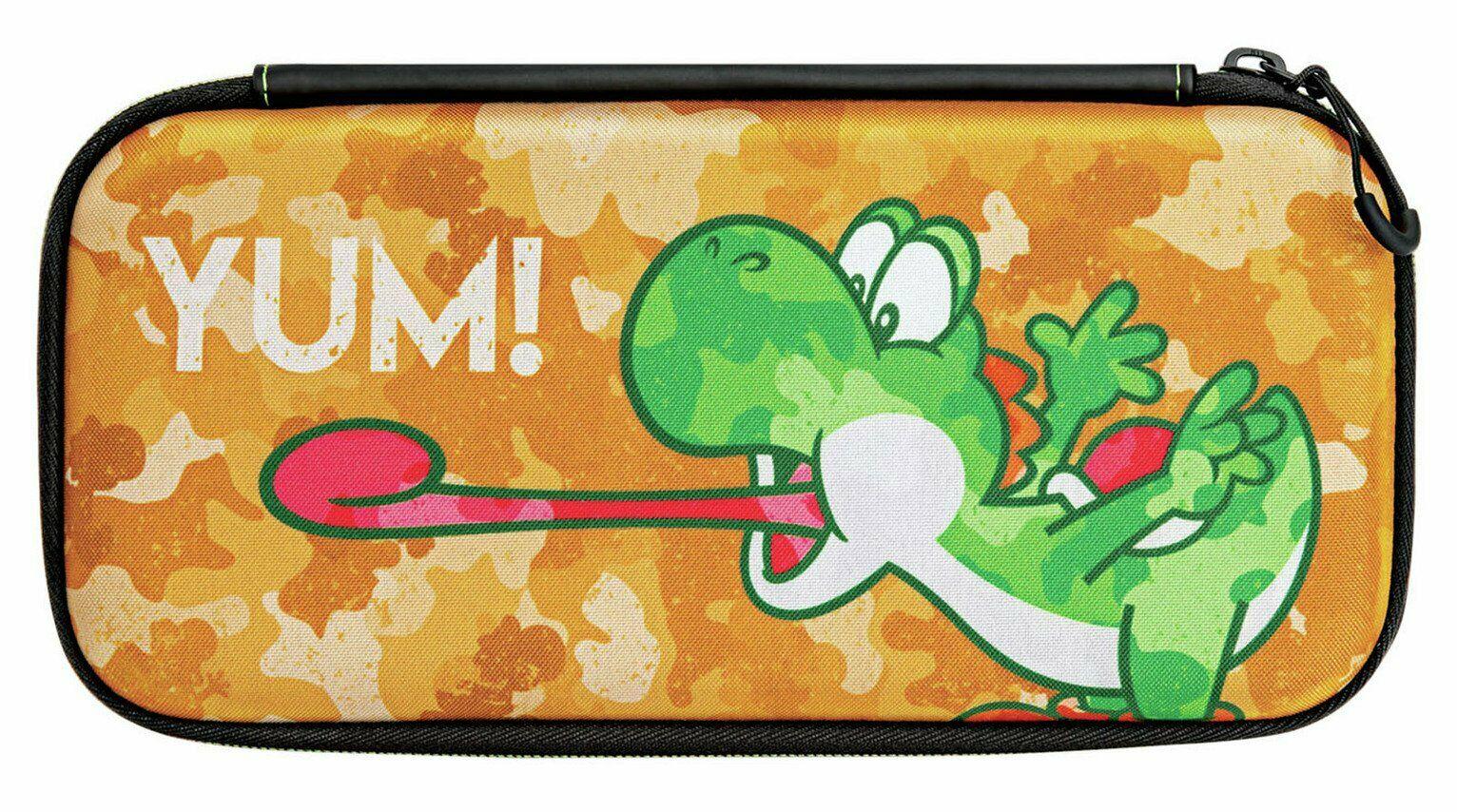 Nintendo Switch Slim Travel Case - Yoshi Camouflage, £4.99 delivered at Argos ebay - UK Mainland