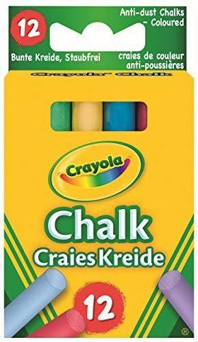 Crayola Muilti Coloured Chalk 12 Pack 80p @ Amazon (+£4.49 non prime)