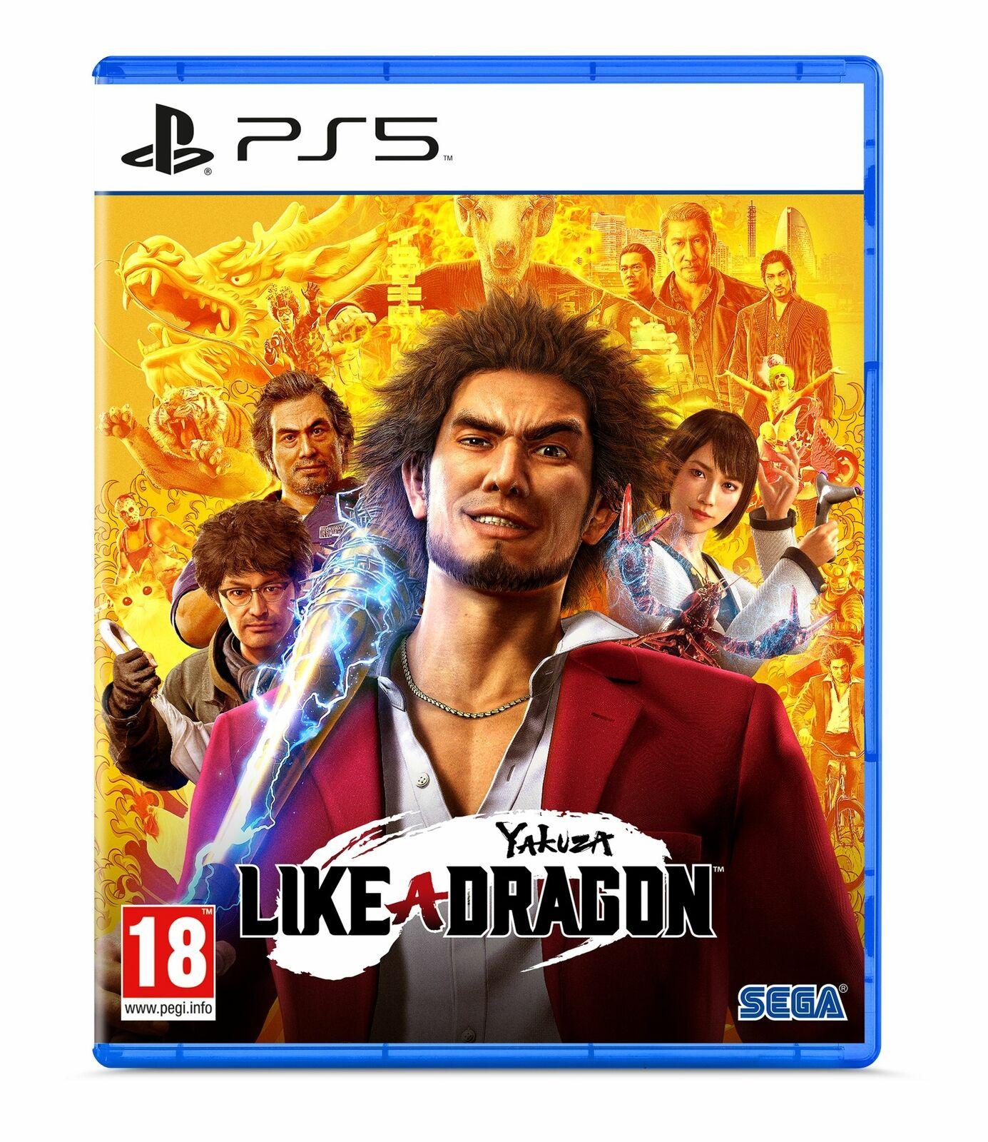 Yakuza: Like a Dragon for PS5 £19.88 using code @ Boss Deals / Ebay