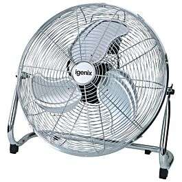 Igenix 18 Inch Floorstanding Air Circulator Fan - Chrome £37.99 delivered with code @ Robert Dyas