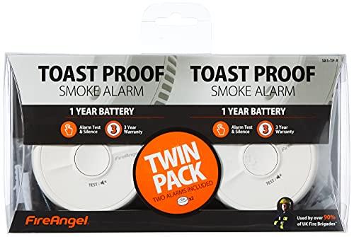 FireAngel Smoke Alarm, 2 Pack, £8.49 (+£4.49 Non Prime) @ Amazon