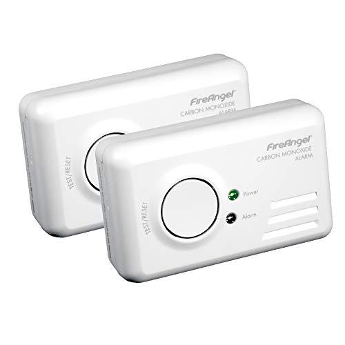 FireAngel TCO-9BQ Carbon Monoxide Alarm, 2 Pack, £19.99 (+£4.49 Non Prime) @ Amazon