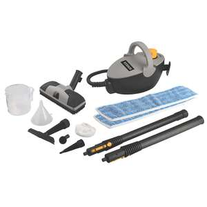 Titan JJB222-7 1500W Steam Cleaner 240V with accessories £39.99 (free click and collect) @ Screwfix