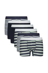 6 Pack - Cotton Trunks (Various Colours / XS - XL) £12.75 With Code + Free Next Day Delivery @ Burton