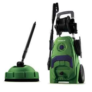 Powerbase 2000W / 145 Bar Pressure Washer With Patio Cleaner & 2 Year Guarantee - £79 Click & Collect / £85 Delivered @ Homebase