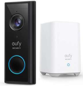 eufy 2K Battery Powered Video Doorbell with Homebase £124.99 at Costco (membership required)