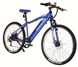 Swifty Electric Mountain Bike with Semi-Integrated Battery £518.04 at Amazon