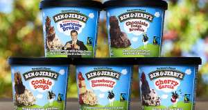 Ben & Jerrys 4.5ltr tubs £4.99 at Fultons Foods in Otley