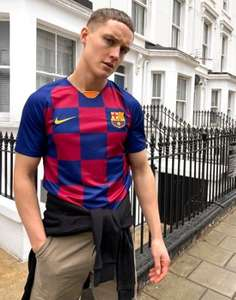 Nike FC Barcelona Football Jersey Now £20.25 with code Free no rush delivery @ Asos