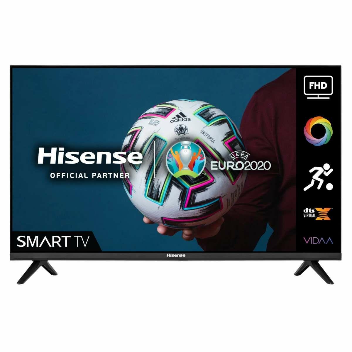 Hisense H40A4GTUK40 Inch Full HD Smart DLED TV £269 with code @ Hughes