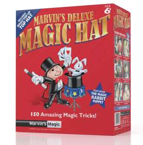 Marvin's Deluxe Magic Hat - with a Performing Rabbit Puppet Free Click & Collect £5 @ Argos