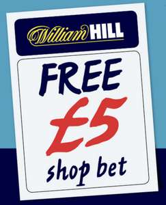 £5 Over The Counter Bet @ William Hill - In Daily Star paper (90p)