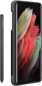 Samsung Galaxy S21 Ultra 5G Silicone Cover with S Pen Black - 6.9 inches - £36.62 @ Amazon